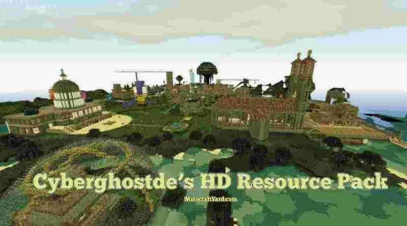 Cyberghostdes HD Resource Pack 1.16.5/1.15.2