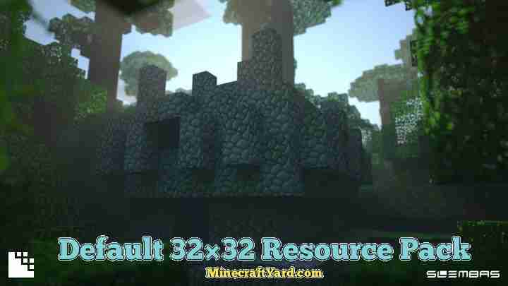 Default 32x32 Resource Pack 1.15.1/1.14.4/1.12.2