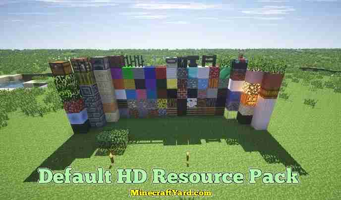 Default 3D Resource Pack 1.13.1/1.13/1.12.2