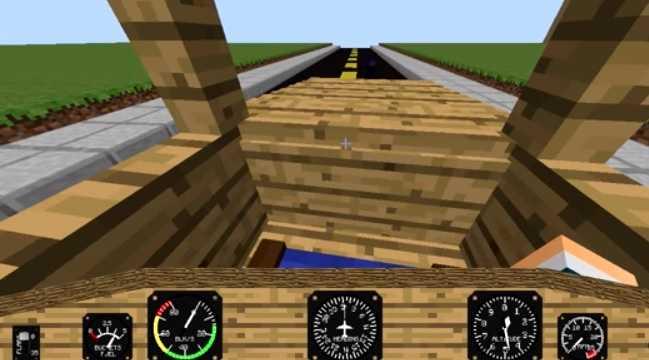 Minecraft Flight Simulator Mod1