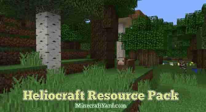 HelioCraft Resource Pack 1.16.5/1.15.2