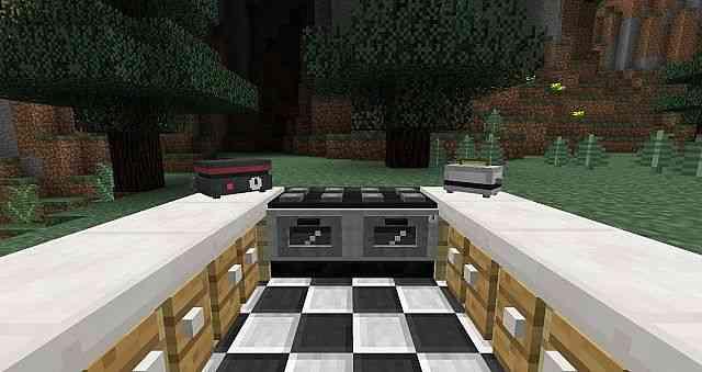 Kitchen Mod Minecraft
