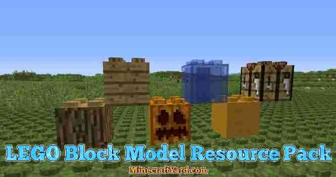 Lego Block Model Resource Pack 1.13.1/1.13/1.12.2