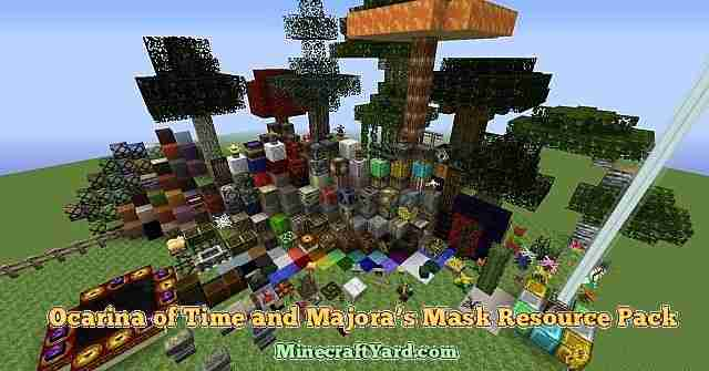 Ocarina Resource Pack 1.16.5/1.15.2
