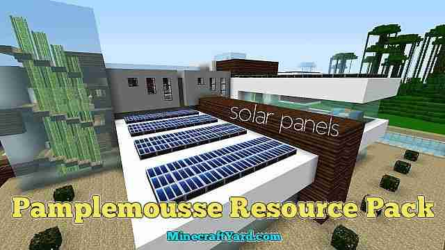 Pamplemousse Resource Pack 1.16.5/1.15.2