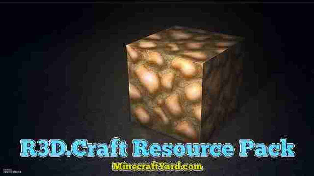 R3D Craft Resource Pack 1 14 4/1 13 2/1 12 2/1 11 2/1 10 2