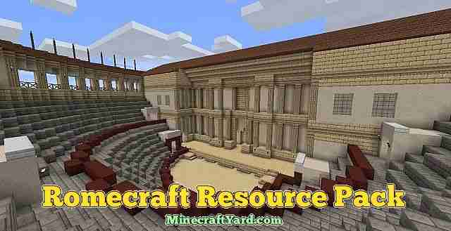 Romecraft Resource Pack 1.16.3/1.15.2