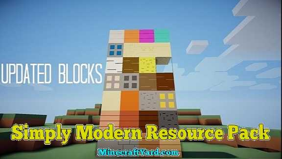 Simply Modern Resource Pack 1.16.5/1.15.2