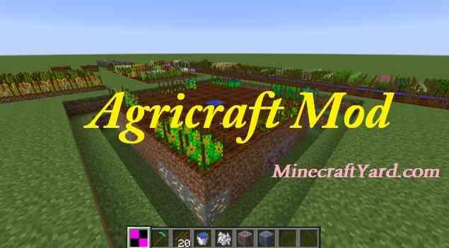 AgriCraft Mod 1.14/1.13.2/1.12.2/1.11.2/1.10.2