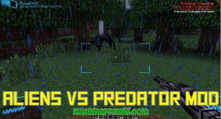 Aliens Vs Predator Mod 1.16.5/1.15.2