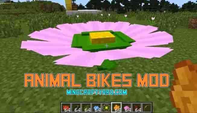 Animal Bikes Mod 1.14.3/1.13.2/1.12.2/1.11.2