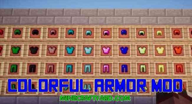Colorful Armor Mod 1.16.5/1.15.2