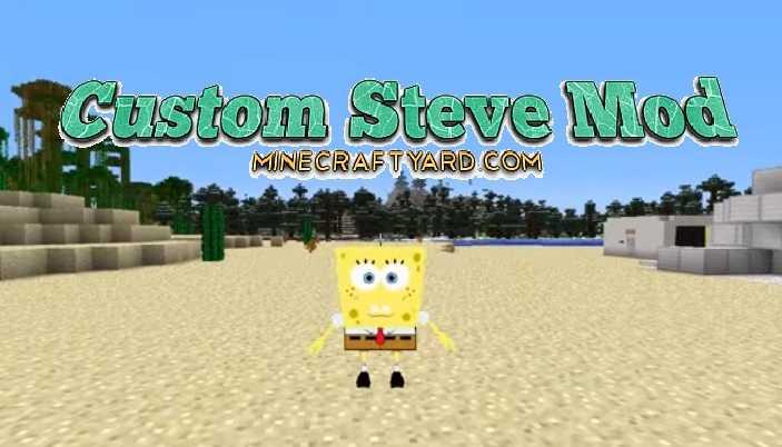 Custom Steve Mod 1.16.5/1.15.2