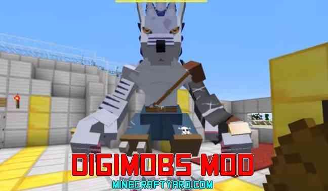 Digimobs Mod 1.16.5/1.15.2