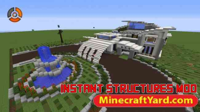 Instant Structures Mod 1.15.2/1.14.4/1.13.2/1.12.2/1.11.2