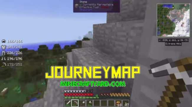 JourneyMap Mod 1.13.1/1.13/1.12.2/1.11.2