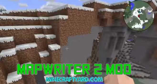 Mapwriter 2 Mod 1.16.5/1.15.2