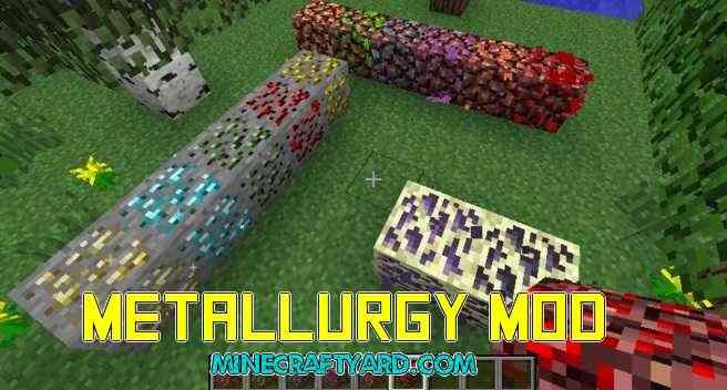 Metallurgy Mod 1.16.5/1.15.2