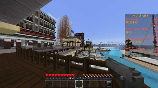 MineTheftAuto Resource Pack for Minecraft 2