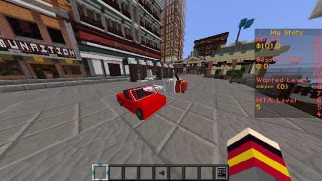 MineTheftAuto Resource Pack for Minecraft 1