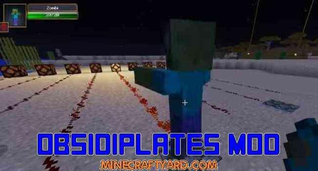 Obsidiplates Mod 1.14/1.13.2/1.12.2/1.11.2