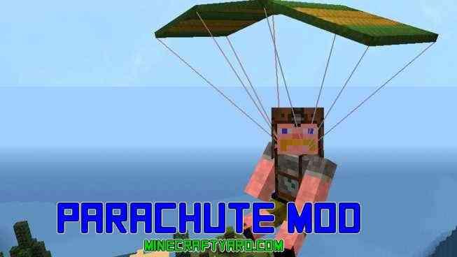 Parachute Mod 1.14.4/1.13.2/1.12.2/1.11.2