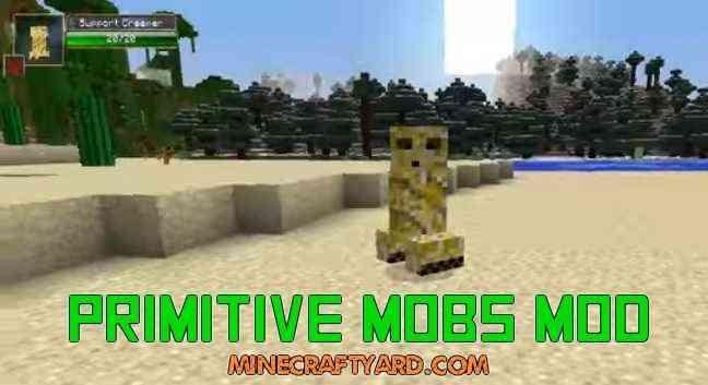 Primitive Mobs Mod 1.14/1.13.2/1.12.2/1.11.2