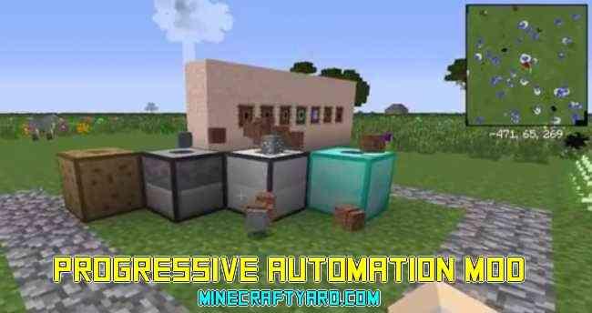 Progressive Automation Mod 1.14/1.13.2/1.12.2/1.11.2
