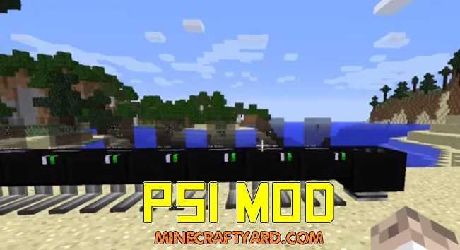 PSI Mod 1.16.5/1.15.2