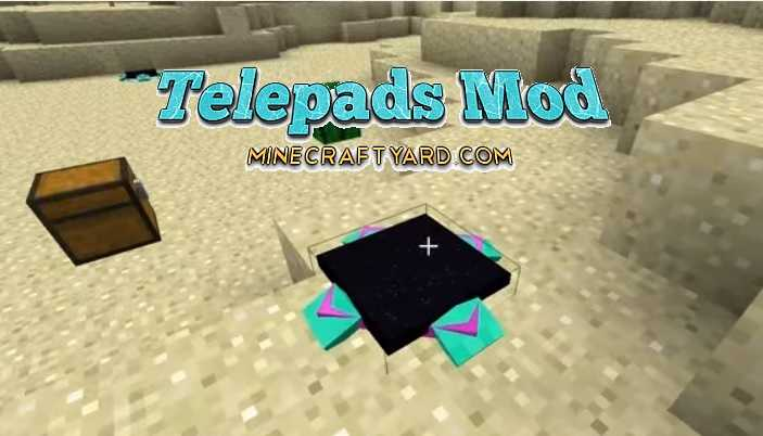 Telepads Mod 1.17.1/1.16.5