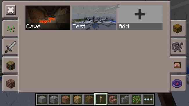 Toolbox Mod for MCPE