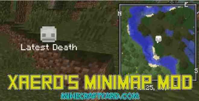 Xaeros-Minimap-Mod 1.15.2/1.14.4/1.13.2/1.12.2