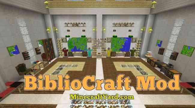 Bibliocraft Mod 1.16.5/1.15.2