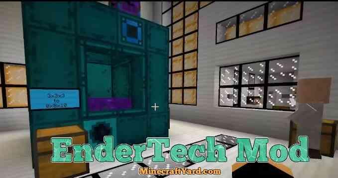 EnderTech Mod 1.13.1/1.13/1.12.2/1.11.2