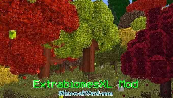 ExtrabiomesXL Mod 1.16.5/1.15.2