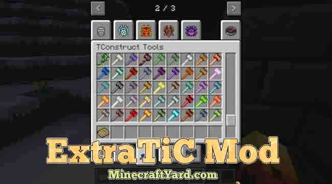 ExtraTic Mod 1.13.1/1.13/1.12.2