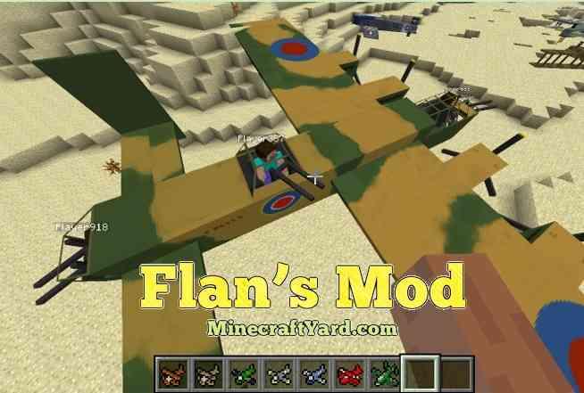 Flan's Mod 1.16.4/1.15.2