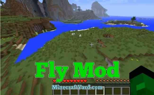 Fly Mod 1.14/1.13.2/1.12.2/1.11.2