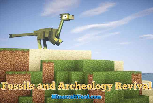 Fossils and Archeology Revival Mod 1.14.3/1.13.2/1.12.2/1.11.2