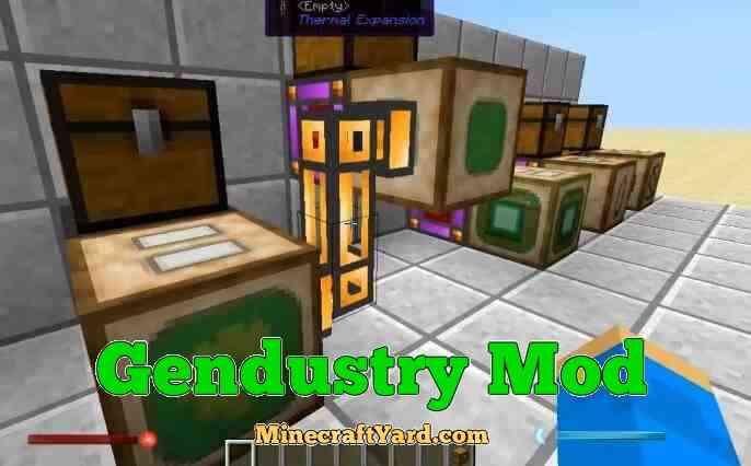 Gendustry Mod 1.16.5/1.15.2