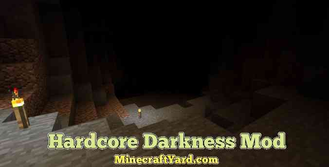 Harcore Darkness Mod 1.16.5/1.15.2