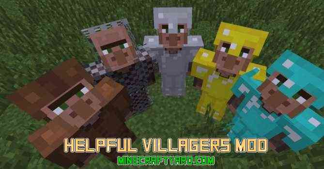 Helpful Villagers Mod 1.16.5/1.15.2