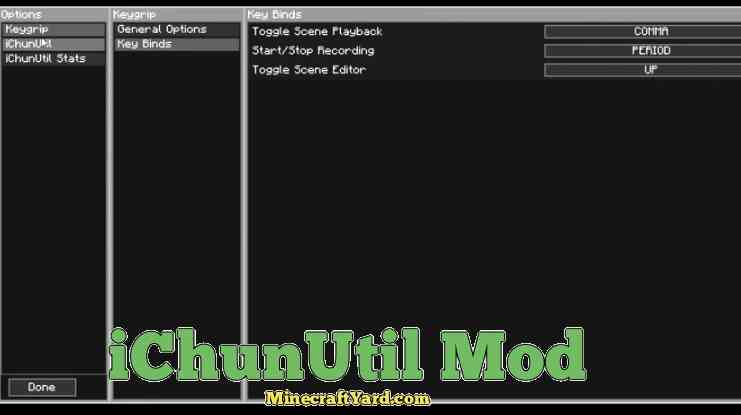 iChun Util Mod 1.16.5/1.15.2