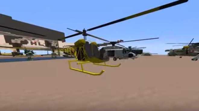 MCHeli Minecraft Helicopter Mod 2