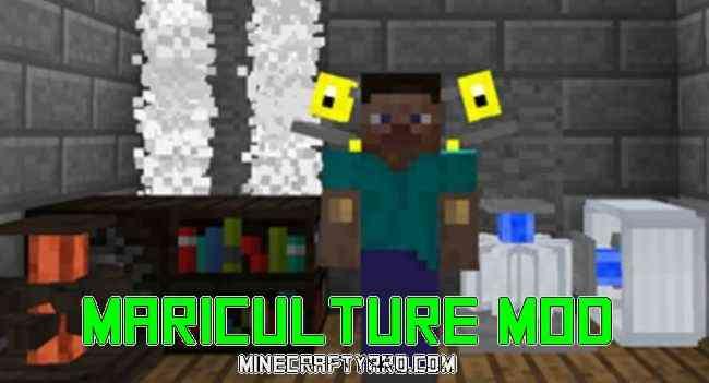 Mariculture Mod 1.14/1.13.2/1.12.2/1.11.2