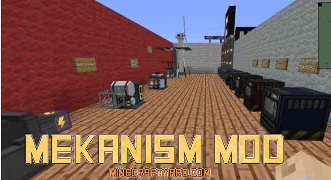 Mekanism Mod 1.16.5/1.15.2
