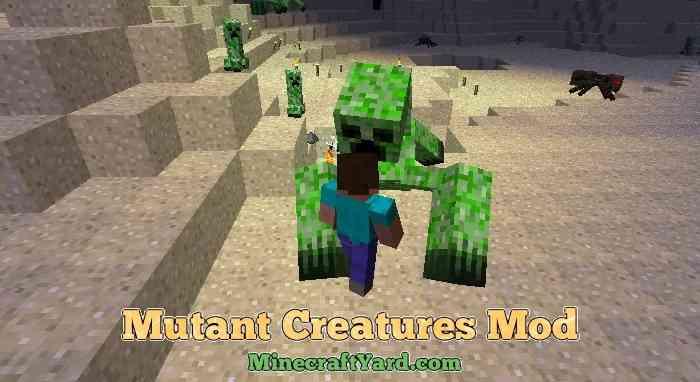 Mutant Creatures Mod 1.14/1.13.2/1.12.2/1.11.2