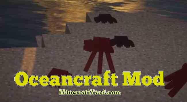OceanCraft Mod 1.16.2/1.16.1/1.15.2