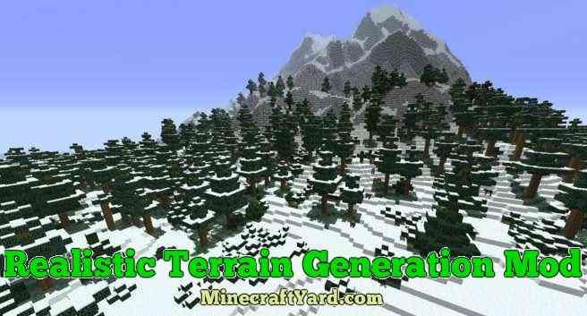 Realistic Terrain Generation 1.14/1.13.2/1.12.2/1.11.2