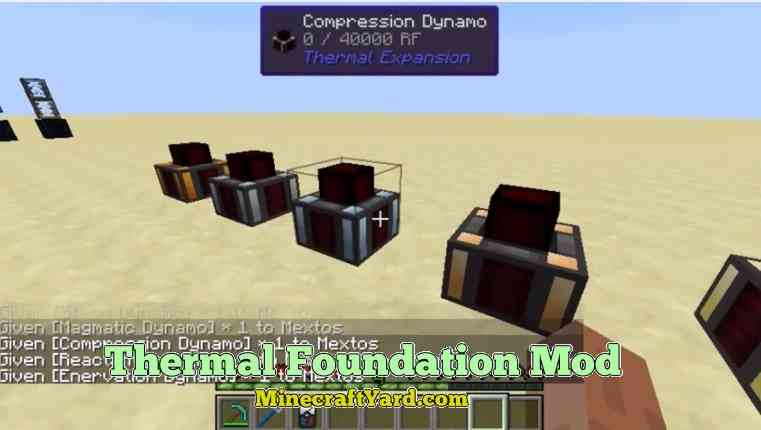 Thermal Foundation Mod 1.16.5/1.15.2